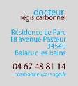 M REGIS  CARBONNEL,Medecin Anti-age sur Balaruc-les-Bains (Languedoc-Roussillon)